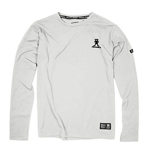 Pickwick - LONGFIRST T-Shirt M/L Uomo Taglie : XL Colore : White