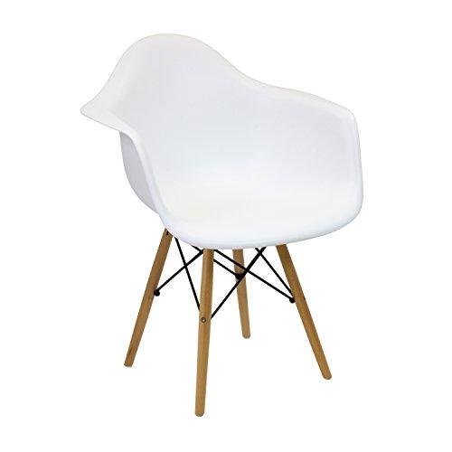 Vaukura Silla Eames - Silla Tower DAW Blanco