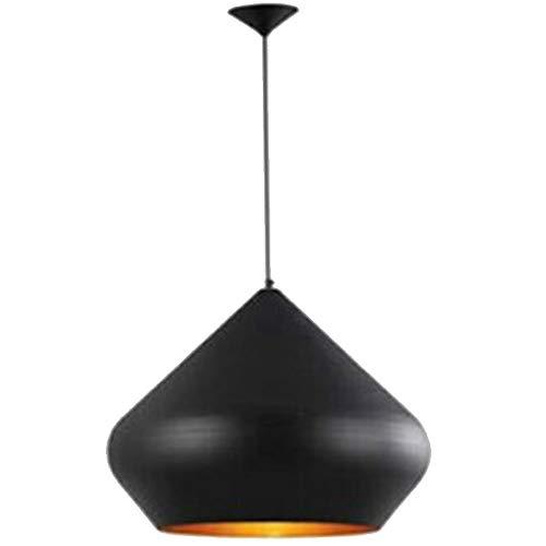 Hines Moderno semplice Tom Dixon Lampadario a testa di lana Creativo di alta qualità in alluminio a testa singola ristorante Cucina regolabile luce del pendente a soffitto, E27 (Color : Black)