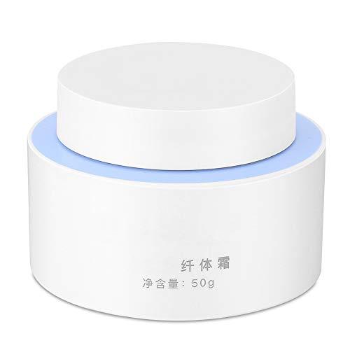Crema adelgazante corporal de 50 g, crema reafirmante moldeadora corporal anticelulítica para perder peso, crema delgada para moldear cintura, abdomen y glúteos