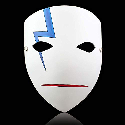 K-Y YK Darker Than Black Resin Mask Cosplay Halloween Ornaments Anime Character Mask (Full face)