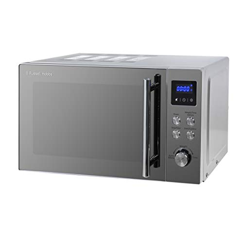 Russell Hobbs RHM2086SS Classic 17 Litre Stainless Steel Digital Microwave with Blue LED