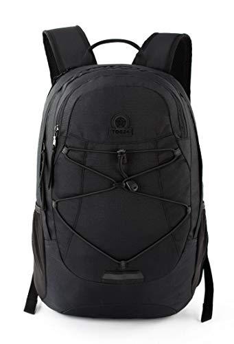TOG 24 Saxton 20L Day Hiking Backpack, Robust Water Resistant Camping Daypack Comfortable Padded Shoulder Straps Adjustable Chest Strap, Elasticated Bungee Cord Front Pocket Side Water Bottle Holder