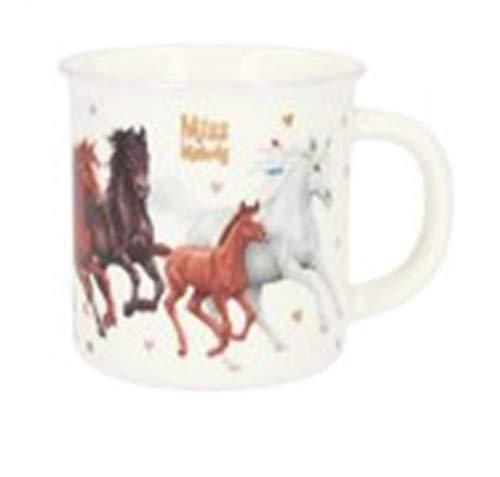 Depesche Miss Melody 8840 - Taza de porcelana con diseño de caballo de ensueño (250 ml), ideal para cacao, café, té y otras bebidas