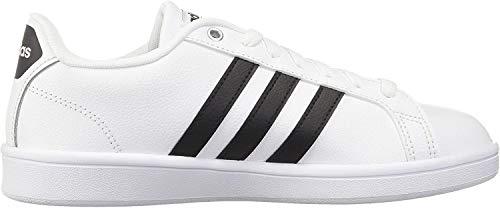 adidas Herren Cloudfoam Advantage Sneaker, Grau (Ftwwht/cblack/ftwwht), 40 2/3  EU