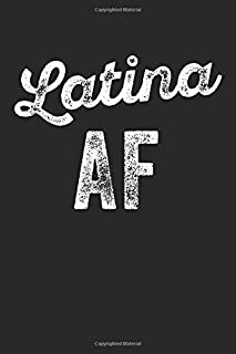 Funny Latina Af: Journal, Notebook, Diary, Composition Book
