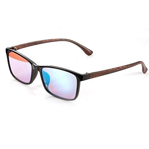 Vierkant Colorblindness correctiebril Color Blind For Man Rood Groen Color Blind Safety Vision + Case Box JNWEIYU