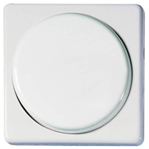 OPUS® 1 50 x 50 mm Abdeckung für Dreh-Dimmer Farbe reinweiß