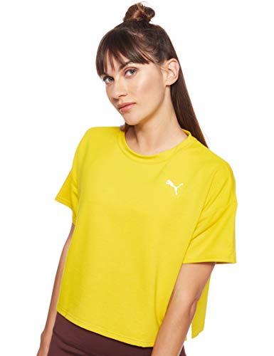 PUMA Modern Sport Sweat tee Camiseta, Mujer, Sulphur, L
