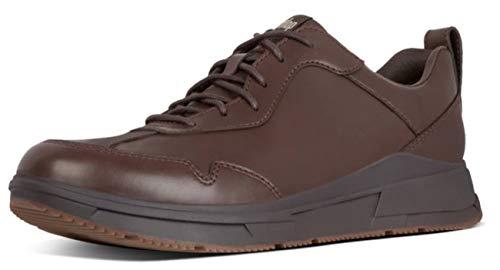 Fitflop Herren Arken Sneakers Sneaker, Braun (Chocolate Brown 167), 47 EU