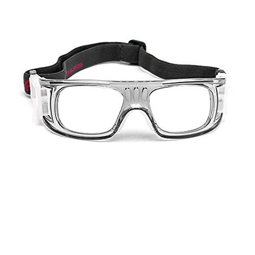 greenwoodner Basketball-Trainingsbrille, Fußball-Sportbrille, explosionssicher, Anti-Schock, Golf, Outdoor, Kurzsichtigkeit
