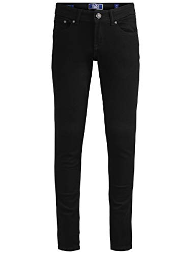 JACK & JONES Herren Skinny Fit Jeans Boys 158Black Denim