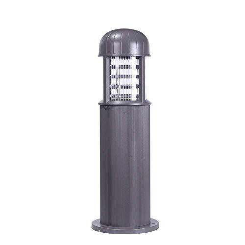 SEESEE.U Post Modern Exterior Lighitng Lámpara de Patio Exterior de Aluminio Fundido a presión Impermeable IP54 Poste de luz E27 Paisaje Patio Piscina comunitaria Poste de césped Luz de Columna