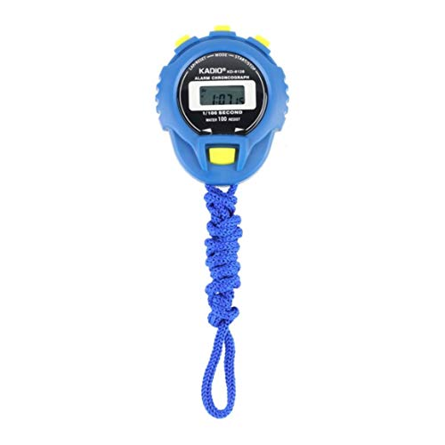 KD-6128 cronógrafo cronómetro digital cronómetro deporte contador odómetro reloj impermeable digital LCD cronómetro contador contador