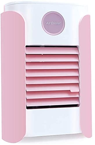 Mini refrigerador de aire, mini aire acondicionado portátil, purificador de aire personal USB con aire acondicionado de aire acondicionado refrigerador refrigerador refrigerador de aire Nano Fan, espa