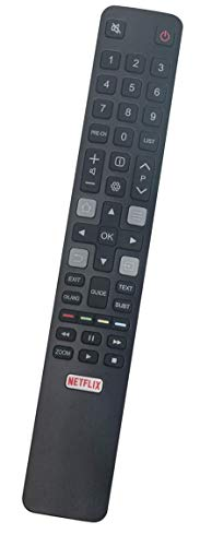 ALLIMITY RC802N IRC802N Reemplazo de Mando a Distancia para TCL Thomson Android TV 49S6000FS 55C70 55DP672 65DP600 F43S5916...