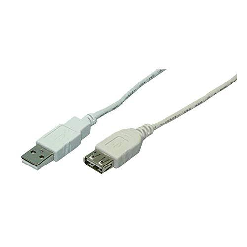 LogiLink CU0010 USB 2.0 Kabel, 2m grau
