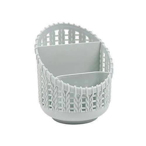 CMHC Titular de la Pluma de plástico Compacto Cesta for el hogar Cocina Baño Estantería de Oficina Organizador de Escritorio Conjunto de papelería de Almacenamiento Caja de la Caja