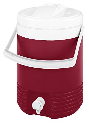 Igloo Legend 2 Galones Dispensador de Bebidas Aislado, 7.6 litros, Rojo