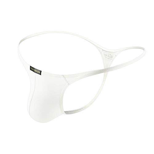Ropa interior sexy para hombres con cintura baja y musculación By Sandbank blanco EU S(Tag M)