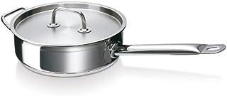 Bekaline Grande Table 12085244 - Sartén con Tapa (Acero Inoxidable, Todo Tipo de cocinas, incluida inducción, 24 cm)