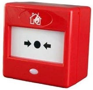 FA22 - RED FIRE MANUAL PULSADOR DE ALARMA PROFESIONAL DE LAS FINANZAS Y DE COMBINACIÓN CON