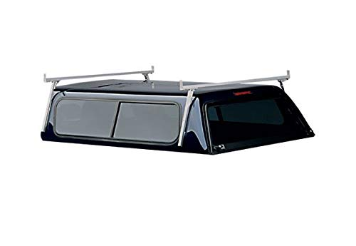 Hauler Racks Universal Aluminum Camper Shell Rack - For Full-Size Pickup Trucks with Caps, Model# C300FULL-1