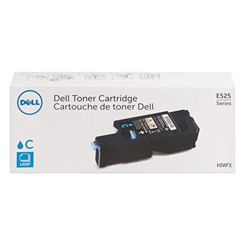 Dell H5WFX Cyan Toner Cartridge for E525w Laser Printer, 1 Size