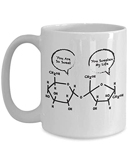 Younini Taza de Química Orgánica Química Estudiante Química Química Humor Estudiante Química Taza de Café Profesor