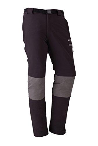 IZAS INFERN Pantalon de Trekking Homme, Gris Foncé/Argent, FR : 2XL (Taille Fabricant : XXL)