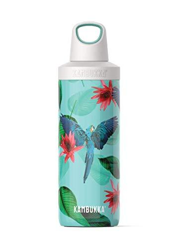 Kambukka Reno Insulated Botella de Agua térmica, Parrots, 500ml