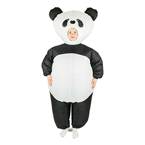 Bodysocks® Aufblasbares Panda Kostüm für Kinder