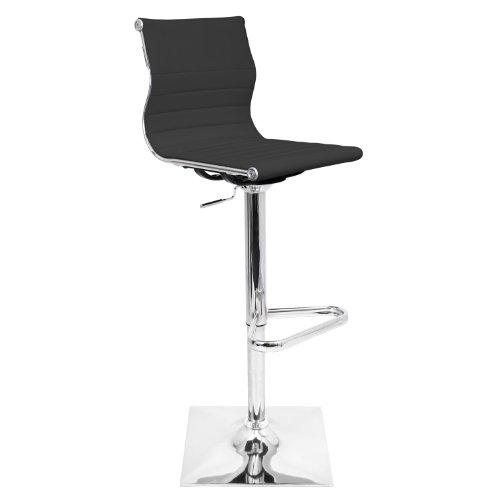Adjustable 25u0022-32u0022 Barstool Black - LumiSource