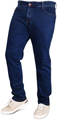 NY Threads Herren Jeans Straight Fit Denim Jeanshose (34W / 30L)