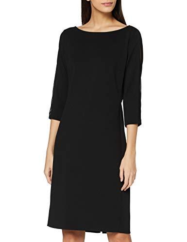 Vera Mont Damen 0155/4867 Formales Abendkleid, Jet Black, 44