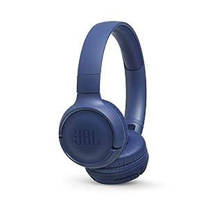 JBL TUNE 500BT – On-Ear Wireless Bluetooth Headphone – Blue