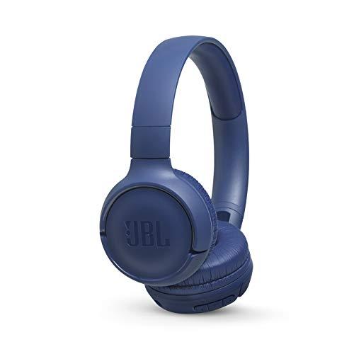 JBL T500BT On-Ear, Wireless Bluetooth Headphone - Blue