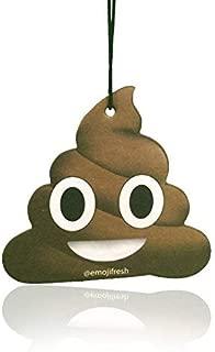 Boostnatics EmojiFresh Poop Emoji Car Air Freshener - Ocean Scent