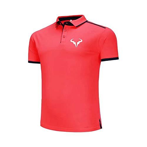 Polo De Hombre con Logo ATP Rafa Nadal Camiseta De Chándal De Tenis Sudadera Deportiva para Fanáticos Sudaderas De Moda Unisex Cómodas Y Transpirables