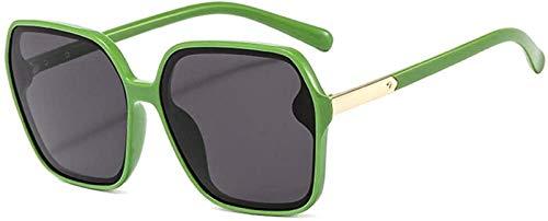 Gafas De Sol Retro Mujeres UV Protección Marco Gafas De Sol Moda Decoración De Metal Ultralight UV400 Protección