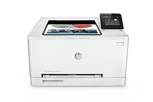 HP Color LaserJet Pro M252dw - Impresora láser (B/N 18 PPM, color 18 PPM, WiFi), color blanco