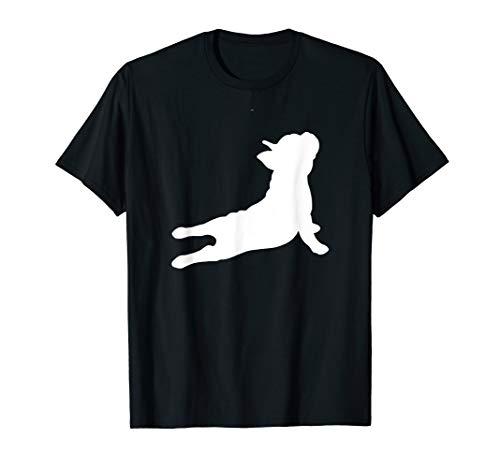 Cute French Bulldog Yoga Funny French Bulldog Owner T Shirt