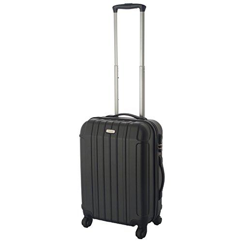 Cahoon Cahoon Hartschalen-Koffer Trolley Handgepäck 4-Rollen Reisekoffer 301 (S-M-L zur Auswahl)