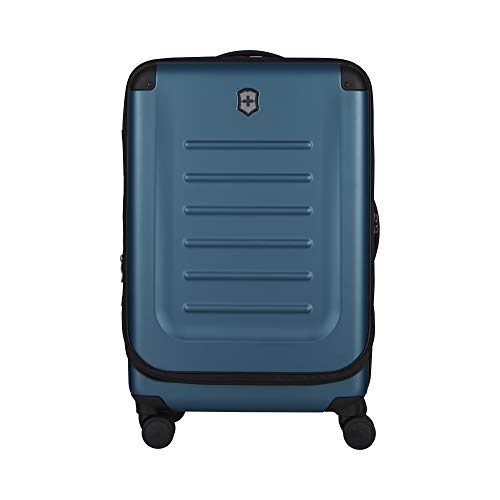 Victorinox Spectra 2.0 Hardside Spinner Suitcase, Dark Teal, Checked-Medium (27')