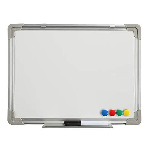 Whiteboard Magnettafel Weißwandtafel Memoboard Pinnwand 40x30cm Aluminiumrahmen magnetisch büroMi®
