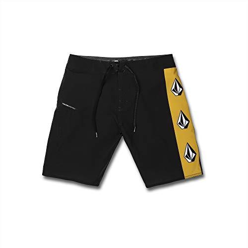 Volcom Men's Deadly Stones MOD 20 Board Shorts, Black, 34A