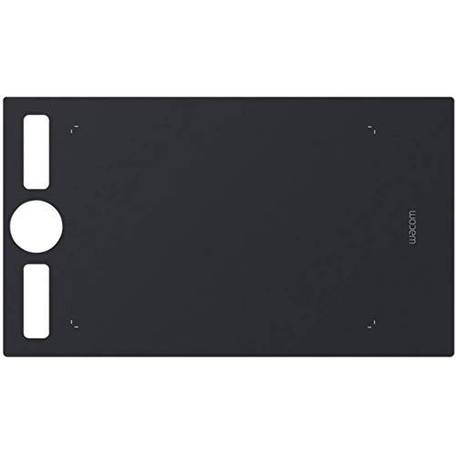 Wacom ACK122211 Foglio Texture Liscio per Superficie Intuos PRO Medium, Nero