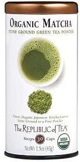 The Republic of Tea Organic Full-Leaf Matcha Non-GMO, 1.5 Ounce Tin