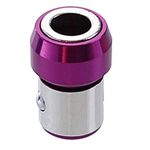 JumpXL Puntas de destornillador magnético anillo de metal fuerte magnetizador tornillo destornillador destornillador destornillador broca soporte de accionamiento para eléctrico 7mm