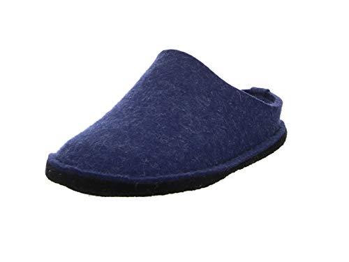 Haflinger Flair Soft Pantoffeln, Unisex-Erwachsene, Blau 38 EU